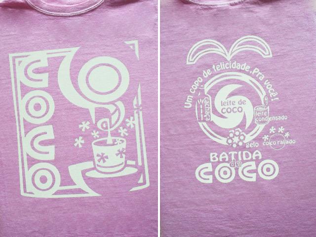 hinolismo迷えるTシャツBatida de coco-(バチーダ・ヂ・ココ)