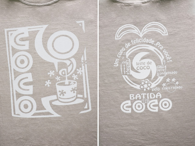 hinolismo迷えるTシャツBatida de cocoバチーダ・ヂ・ココ