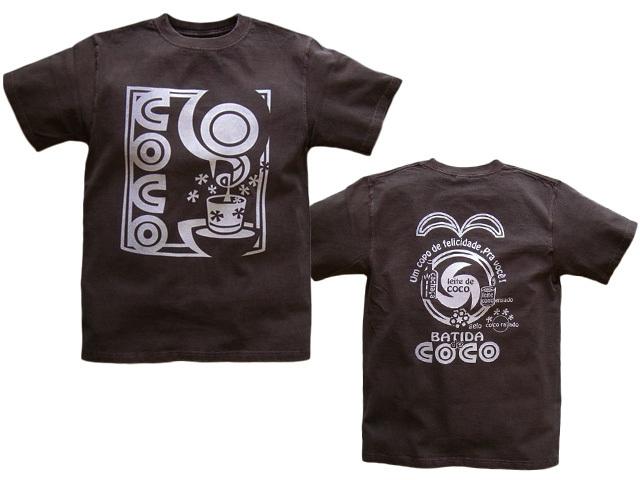 hinolismo-Batida de coco(バチーダ・ヂ・ココ)Tシャツ