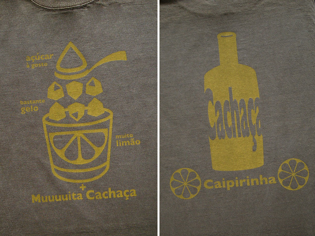 hinolismo迷えるTシャツ初代Caipirinha(カイピリーニャ)