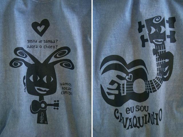 hinolismo迷えるTシャツ-EU SOU CAVAQUINHO(わたしはカヴァキーニョ)