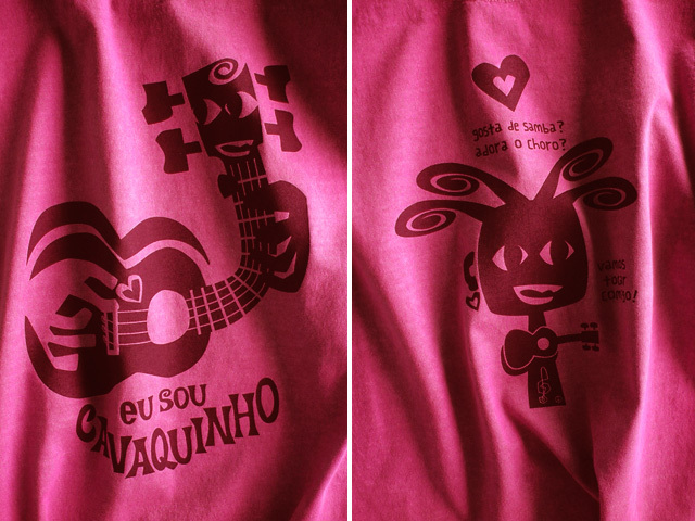 hinolismo迷えるTシャツーEU SOU CAVAQUINHO(わたしはカヴァキーニョ)