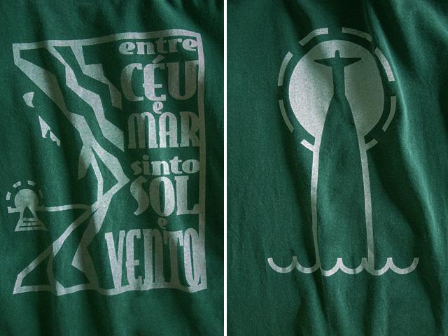 hinolismo迷えるTシャツMorro de Corcovadoコルコバードの丘