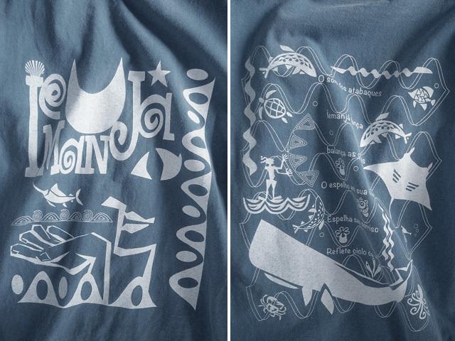 hinolismo迷えるTシャツ-海のオリシャ、イエマンジャ