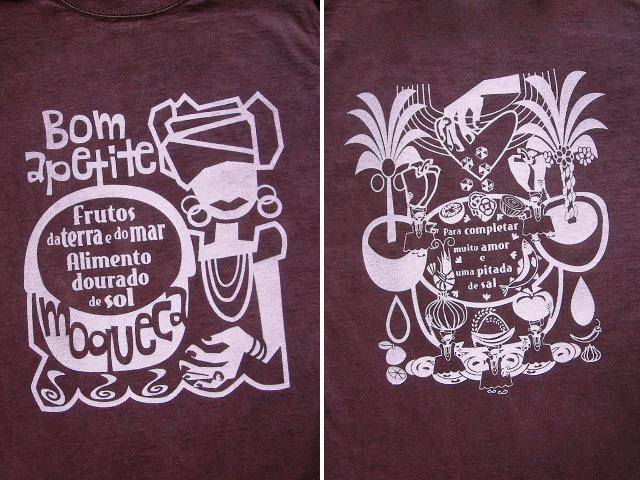 hinolismo迷えるTシャツMoqueca(ムケッカ)