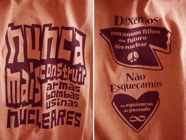hinolismo迷えるTシャツ反核-NUNCA MAIS NUCLEARES