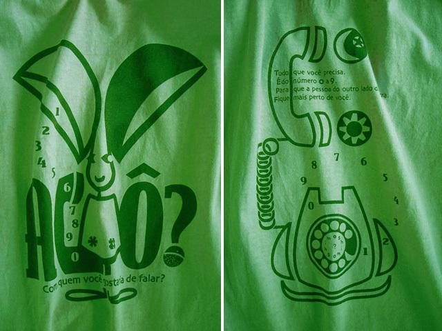 hinolismo迷えるTシャツOrelhao(オレリャォン)と黒電話