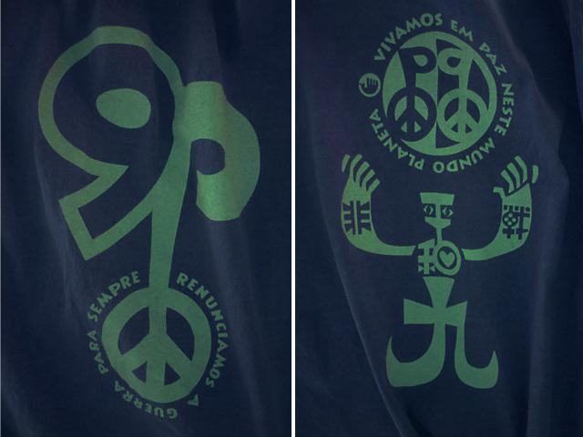 hinolismo迷えるTシャツ-非戦平和&憲法9条リスペクト