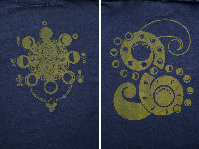 hinolismo-ヒノリズモ-迷えるTシャツ-Lua(ルア)-月の満ち欠け