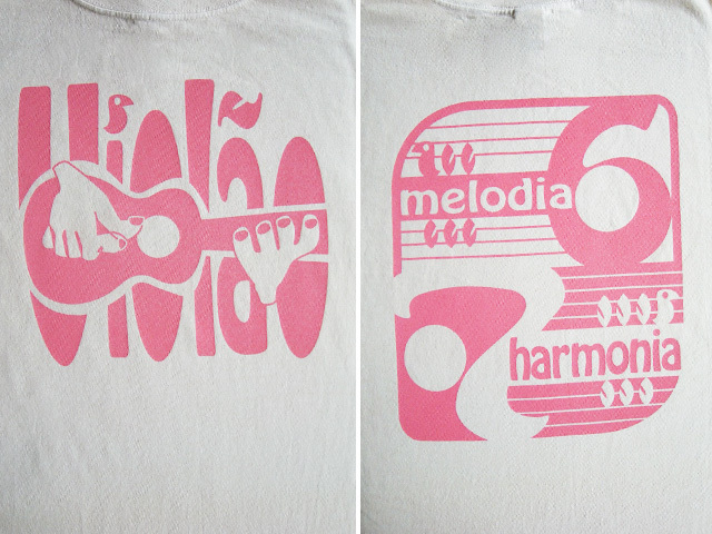 hinolismo迷えるTシャツViolao 6 e 7(ヴィオロン6弦と7弦)