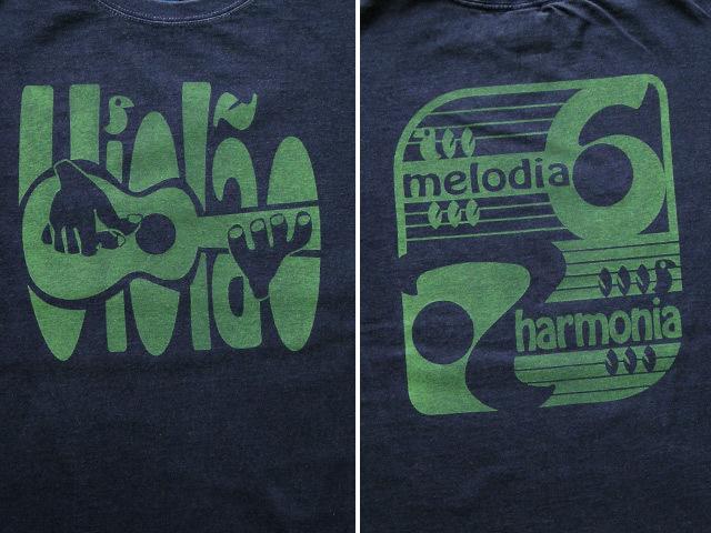 hinolismo-ヒノリズモ-迷えるTシャツ-Violao 6 e 7(ヴィオロン6弦と7弦)
